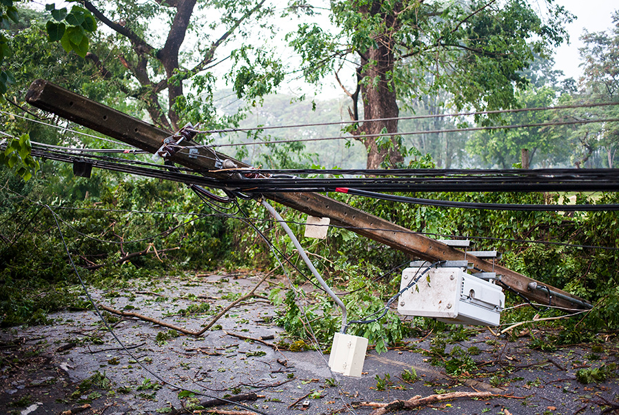 Natural Disaster - Power Lines Down
